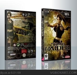 Tomb Raider Underworld Wii Box Art Cover By Sk Ar