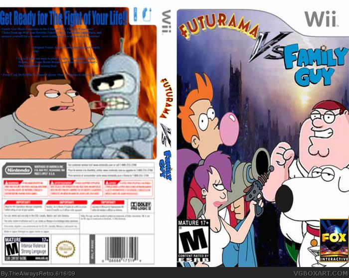 Wii » Futurama Vs. Family Guy Box Cover