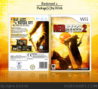 Wii » Red Steel 2 Box Cover