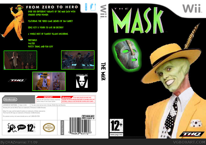 The Mask box art cover