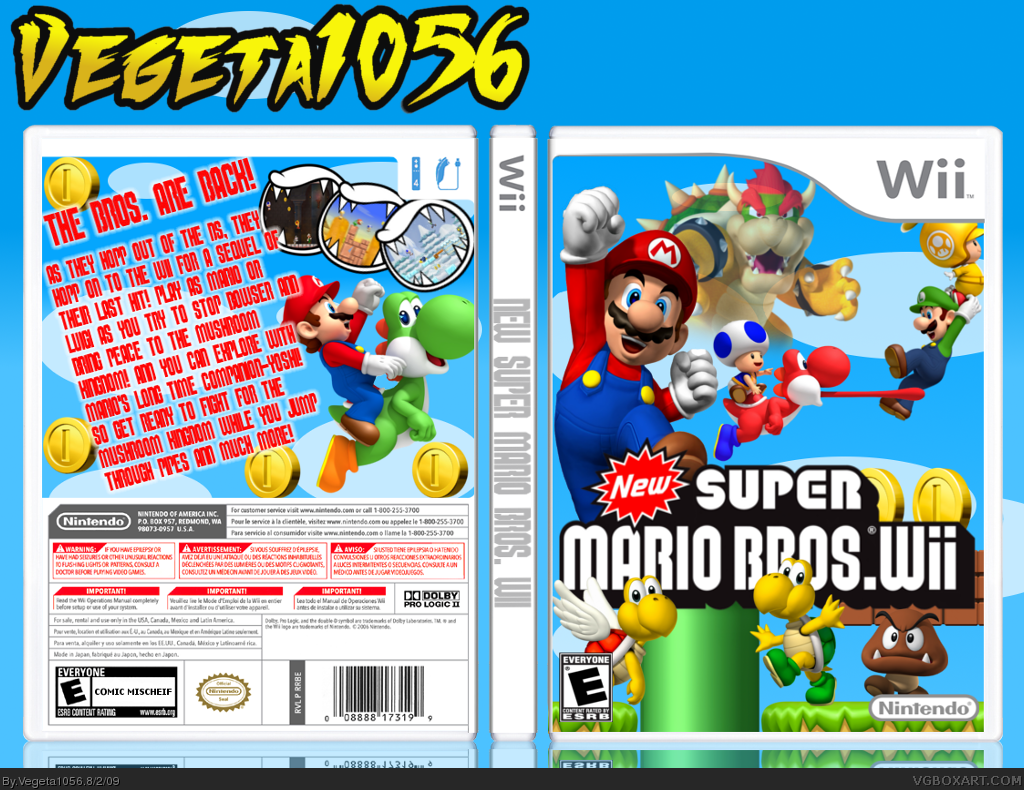 download the new super mario bros wii iso