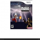 HALO VS MARIO Box Art Cover