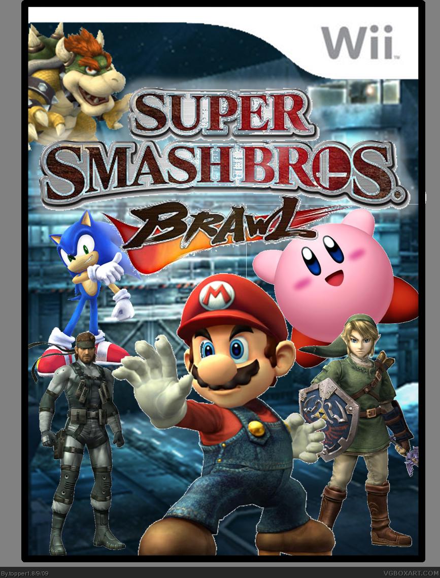 Super Smash Bros. Brawl Box Cover Comments