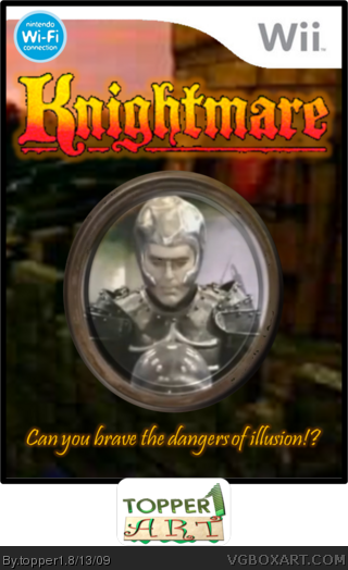 knightmare wii box art cover by topper1