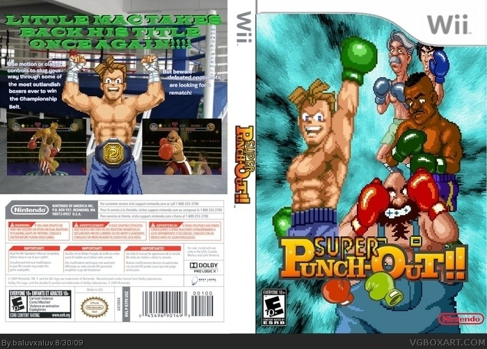 Mike Tyson Punch Out Wii : Punch out wii cover pixshark images galleries