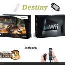 Black Wii Bundle Monster Hunter 3 Box Art Cover