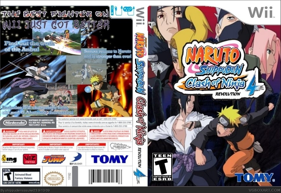 Aporte] Naruto Clash Of Ninja Revolution 4 - Taringa!