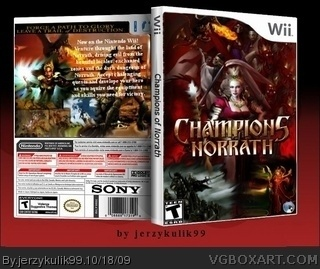 Champions of Norrath box art cover