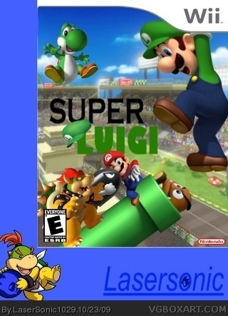 Super Luigi box cover