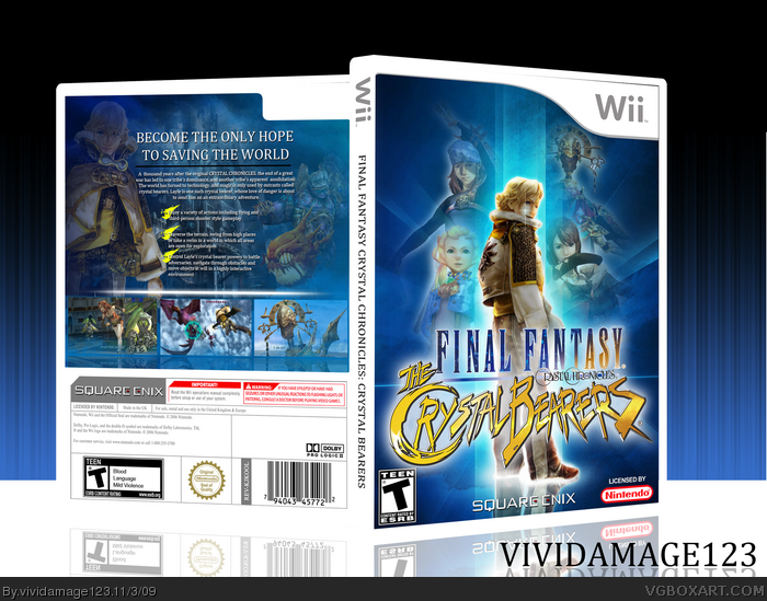 Final Fantasy Crystal Chronicles: Crystal Bearers box art cover