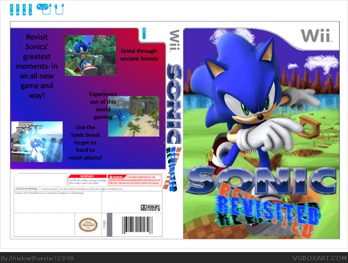 Sonic Revisited box art cover