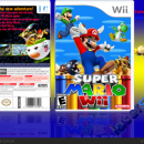 Super Mario Wii Box Art Cover