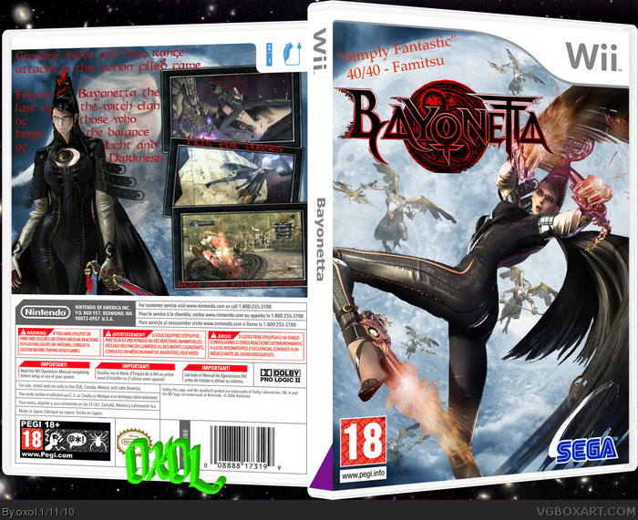Bayonetta 2 Box Art Bayonetta Box Art Cover