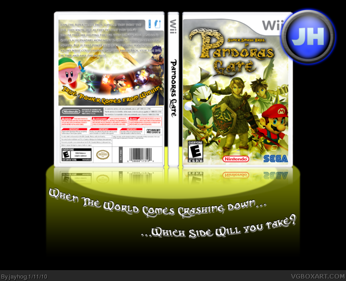 SSB: Pandora's Gate box art cover