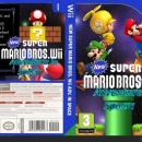 New super mario bros.Wii Adventure in Space Box Art Cover