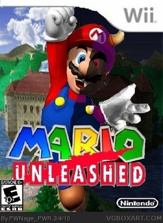 Mario Unleashed Wii Box Art Cover By Pwnage Pwr