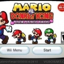 WiiWare: Mario Vs. Donkey Kong: Minis March Again! Box Art Cover