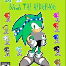 BALA THE HEDGEHOG Box Art Cover