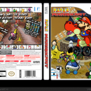 Paper Mario Kart Box Art Cover