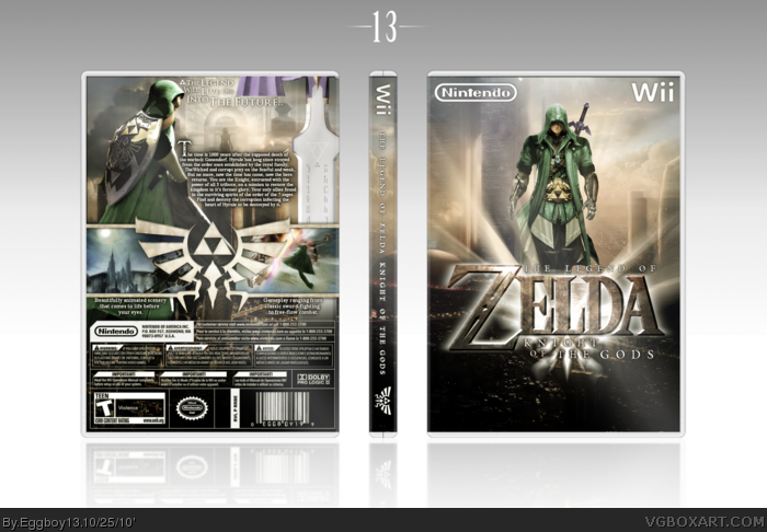 The Legend of Zelda: Knight of The Gods box art cover