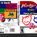 Kirby's Epic Piece of Paper Box Art Cover