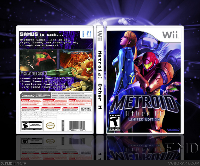 Metroid: Other M Limited Edition box art cover