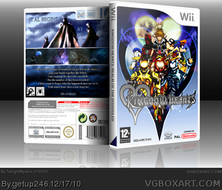 Kingdom Hearts: Lost Soul box cover