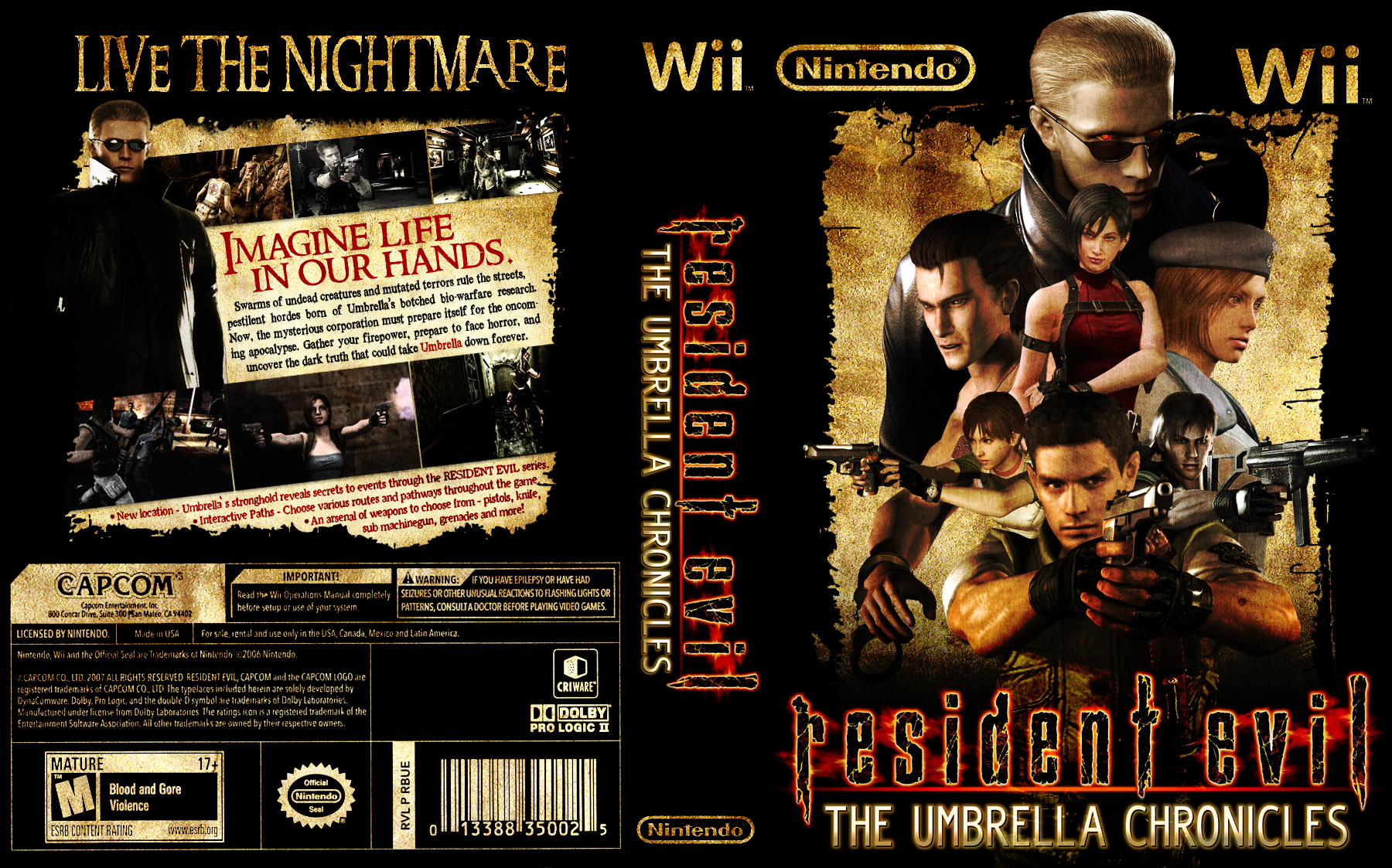 [Mi Subida]Resident Evil The Umbrella Chronicles[Wii/Esp/JF]