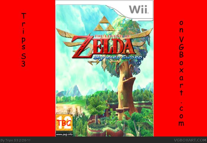 Genesis 38 8 >> The Legend of Zelda: Skyward Sword Wii Box Art Cover by Trips S3