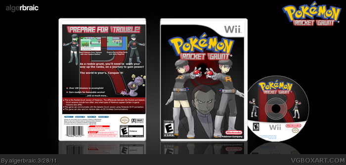 Pokemon Rocket Grunt box art cover