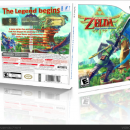 Legend of Zelda Skyward Sword Box Art Cover