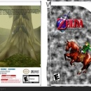 The Legend of Zelda: Ocarina of Time Box Art Cover
