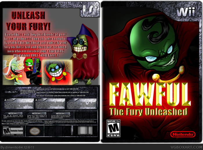 Fawful: The Fury Unleashed box art cover