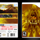 The Zelda Scrolls: Skyrim Sword Box Art Cover