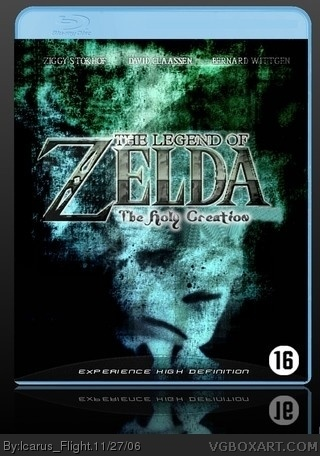 The Legend of Zelda: The Holy Creation box art cover