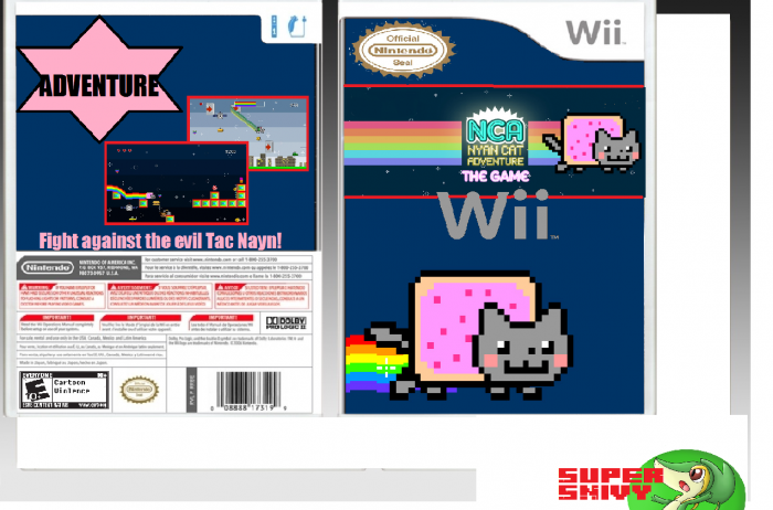 Nyan Cat Adventure box art cover