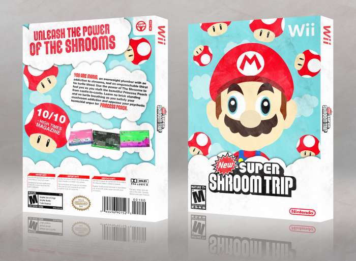 New Super Shroom Trip box art cover