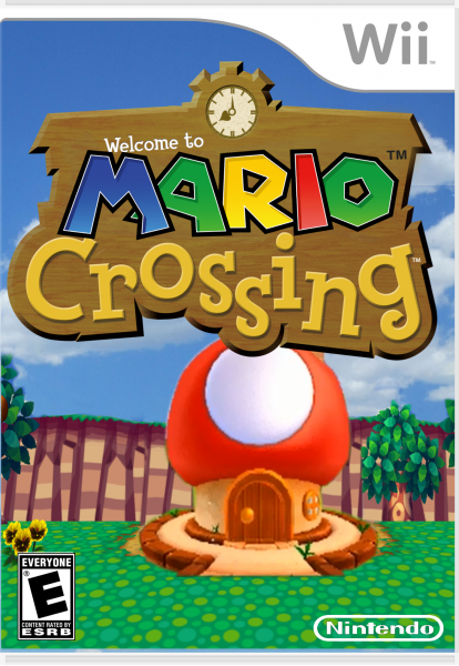 Mario Crossing box art cover