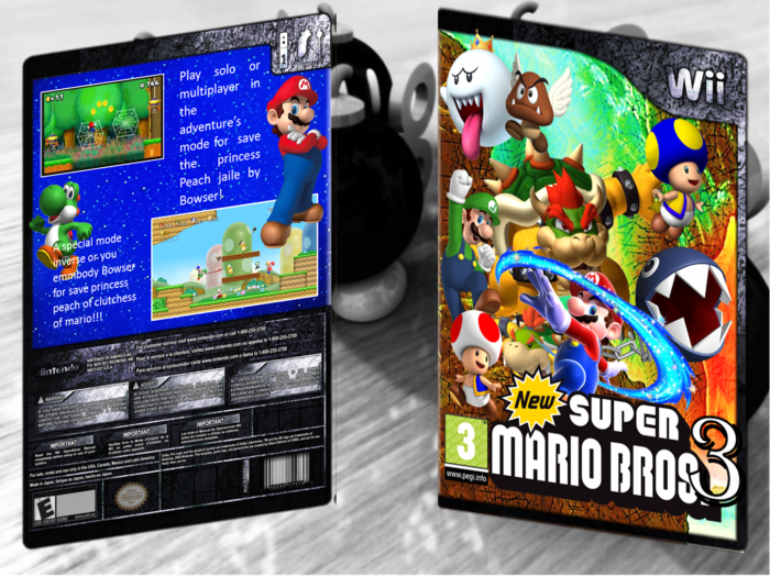 New super mario bros wii 3 the third level wbfs ntsc - Passage secret mario bros wii ...