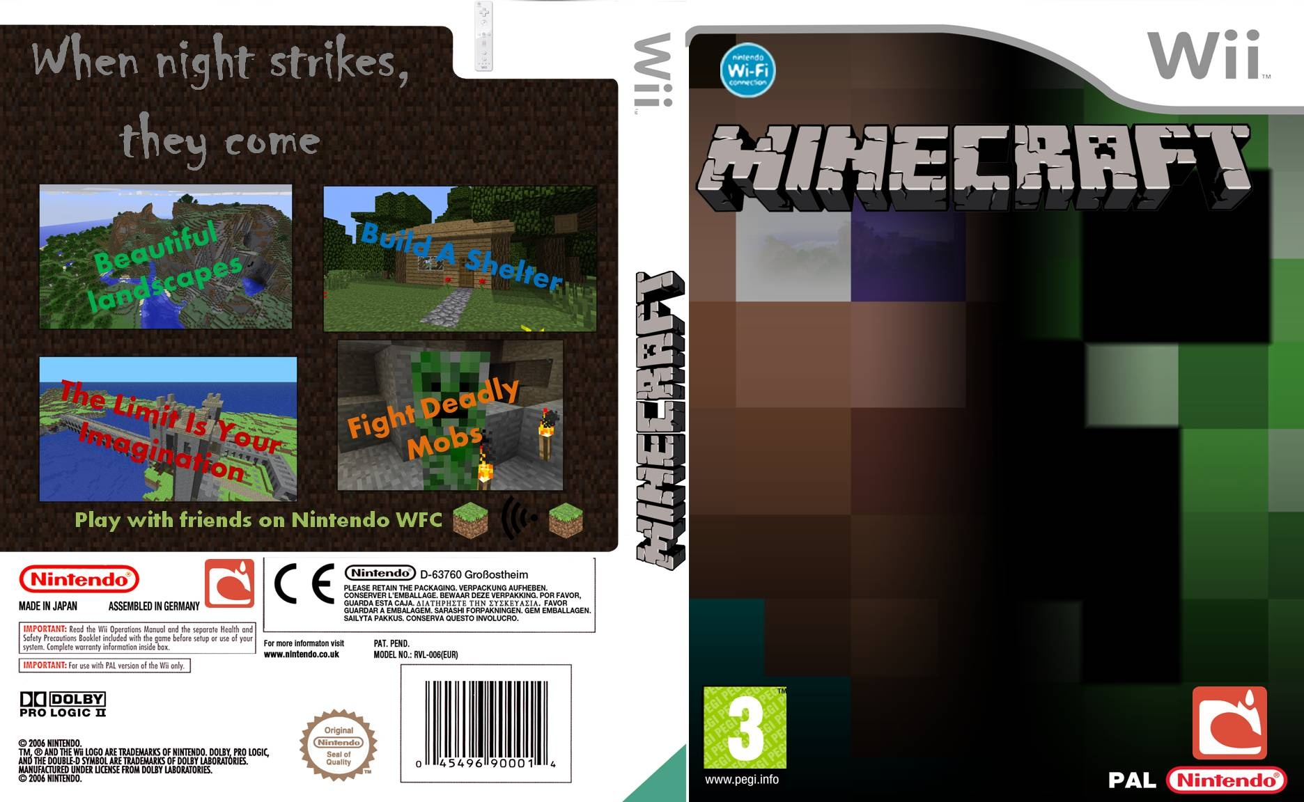 how to play minecraft wii u