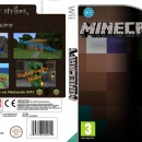 Minecraft Wii Box Art Cover