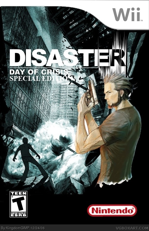 Disaster Day Of Crisis Wii Box Art Cover By Deleted