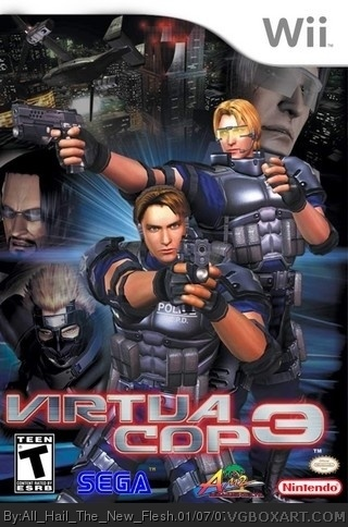 Virtua Cop 3 box art cover