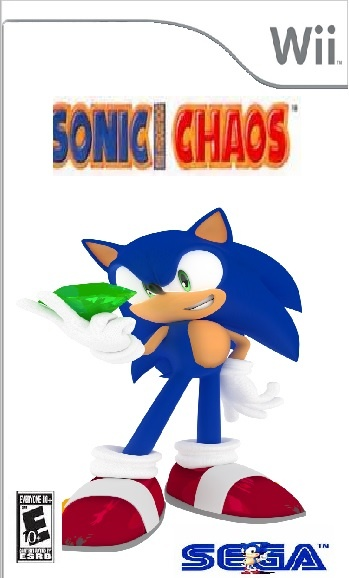Sonic Chaos box cover