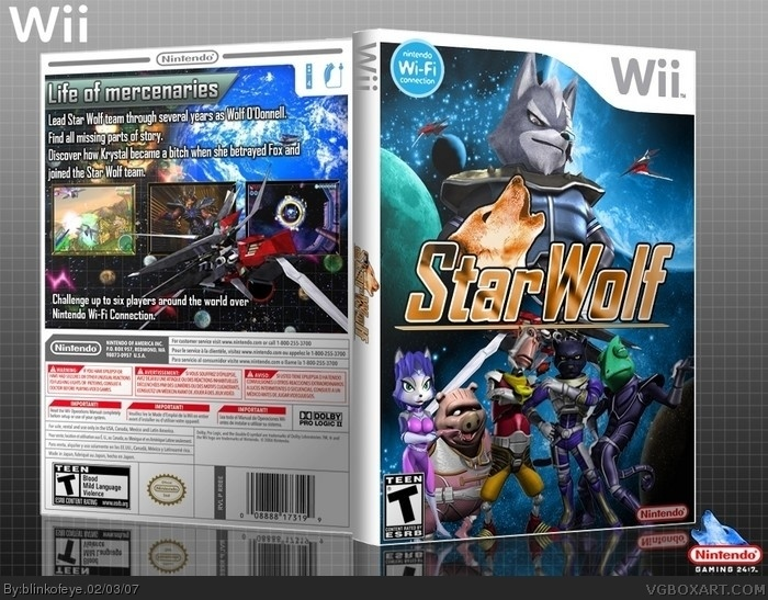 Star Wolf box art cover