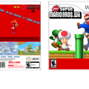 New Super Mario Bros Wii Box Art Cover