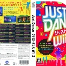 Just Dance Wii 2 Box Art Cover