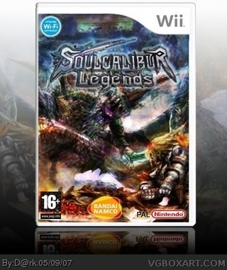 Soul Calibur Legends box cover