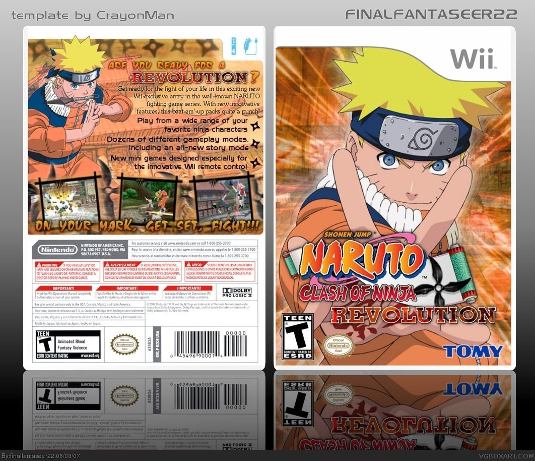 Naruto Clash Of Ninja Series : Naruto clash of ninja revolution base bensgimsae