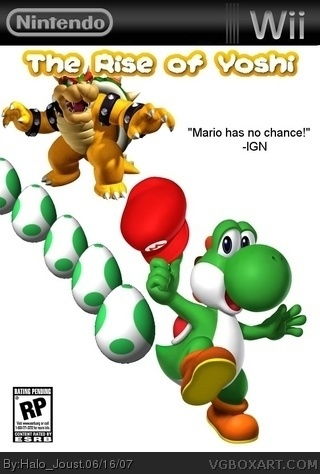 The Rise of Yoshi box art cover